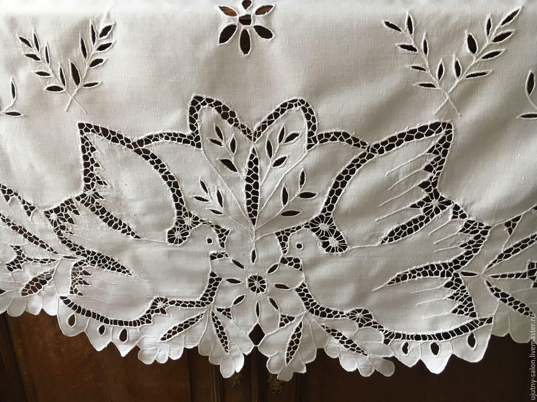 Вышивка в стиле ришелье