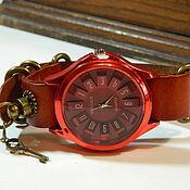 handmade. Livemaster - original item Women`s steampunk watch