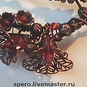 Украшения ручной работы. Ярмарка Мастеров - ручная работа ночные цветы. Handmade.