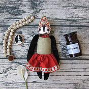 Мягкие игрушки ручной работы. Ярмарка Мастеров - ручная работа Игрушка птичка №8 Русский народный костюм, кокошник. Handmade.