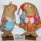 Куклы и игрушки ручной работы. Ярмарка Мастеров - ручная работа Рыбье семейство. Handmade.