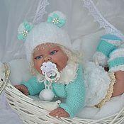 """Куклы и игрушки ручной работы. Ярмарка Мастеров - ручная работа """"Бирюзовый бриллиант"""" комплект для куклы. Handmade."""