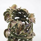 Для дома и интерьера ручной работы. Ярмарка Мастеров - ручная работа Миниатюрная ваза Болотная нимфа. Handmade.