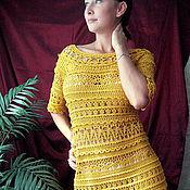"Одежда ручной работы. Ярмарка Мастеров - ручная работа Платье""Обворожительная Оливия Ванессы Монторо"". Handmade."