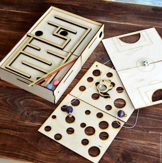 Развивающие игрушки ручной работы. Ярмарка Мастеров - ручная работа. Купить Набор 3 в 1 из развивающих игр для детей. Handmade.