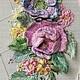 Картины цветов ручной работы. Венок (работа не авторская). phoenix (Iryna Olar). Интернет-магазин Ярмарка Мастеров. Вышивка ручная
