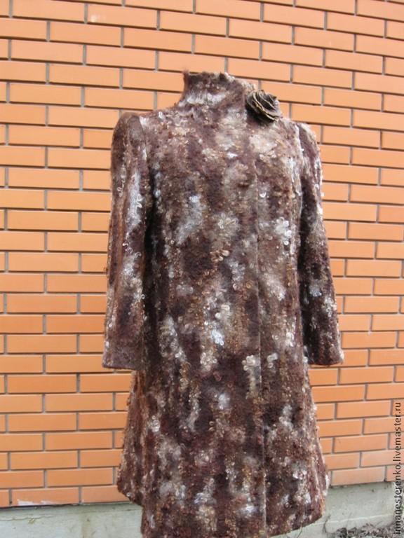 Handmade. Felted coat.