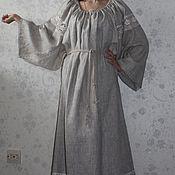 """Одежда ручной работы. Ярмарка Мастеров - ручная работа Льняное платье """"Linen style"""". Handmade."""