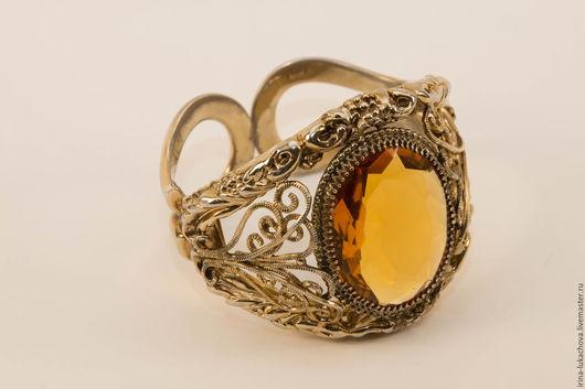 Винтажные украшения. Ярмарка Мастеров - ручная работа. Купить WHITING & DAVIS Винтажный  массивный браслет - манжета.(№62). Handmade.
