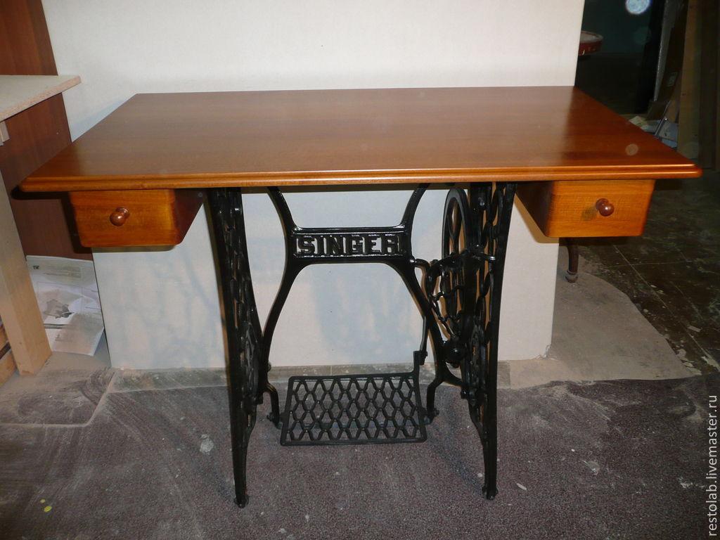 Столешница для швейной машины зингер купить нужна столешница на камин