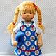Вальдорфская игрушка ручной работы. Маша, 42 см. svetlana. Ярмарка Мастеров. Детская кукла, кукла текстильная, игрушки