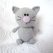 Куклы и игрушки ручной работы. Ярмарка Мастеров - ручная работа Вязаный котик. Handmade.