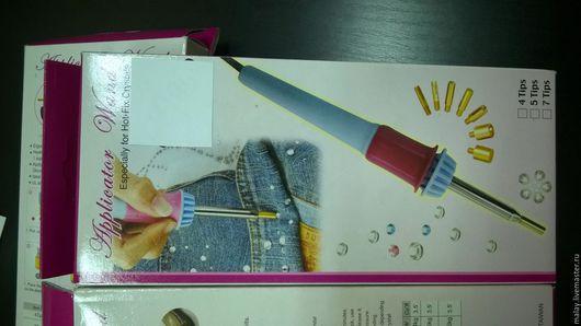 Аппликации, вставки, отделка ручной работы. Ярмарка Мастеров - ручная работа. Купить паяльник для страз. Handmade. Паяльник для страз, сумочек