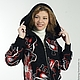 """Верхняя одежда ручной работы. Ярмарка Мастеров - ручная работа. Купить Куртка """"Автоледи Зима"""". Handmade. Черный, зимняя куртка"""