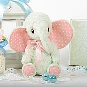 Материалы для творчества handmade. Livemaster - original item Sewing kit Teddy Elephant with tools. Handmade.