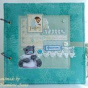 """Подарки к праздникам ручной работы. Ярмарка Мастеров - ручная работа Фото-Альбом """"Teddy Bear"""" для мальчика. Handmade."""