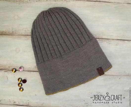 Шапка вязаная спицами бини  шапка тонкая шапка вязанная шапка весенняя шапка осенняя шапочка шелк шапочка вязаная спицами шапочка вязанная шапочка легкая шапка со стразами сваровски шапка с кристаллам