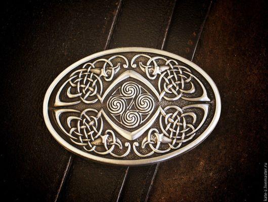 Пояса, ремни ручной работы. Ярмарка Мастеров - ручная работа. Купить Пряжка для ремня Кельтские птицы. Handmade. Пряжка