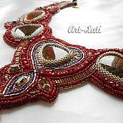 """Украшения handmade. Livemaster - original item """"Rubidus"""" necklace. Handmade."""