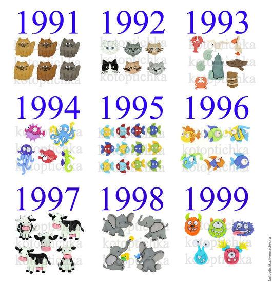 Шитье ручной работы. Ярмарка Мастеров - ручная работа. Купить 19 Пуговицы кошки, коты, мышки, рыбки, русалочка, дельфин, медуза. Handmade.