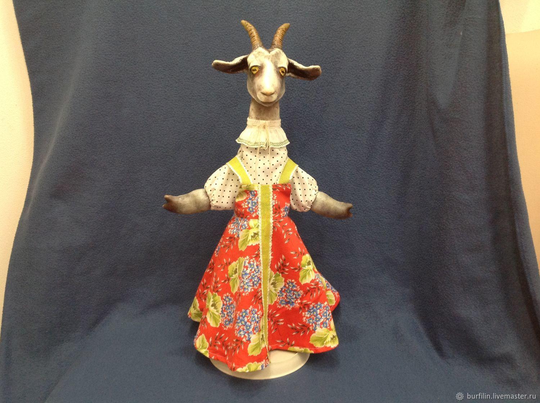 Коза 50 см перчаточная кукла, Кукольный театр, Пенза,  Фото №1