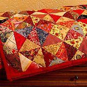 """Для дома и интерьера ручной работы. Ярмарка Мастеров - ручная работа """"Весеннее"""" лоскутное одеяло. Handmade."""