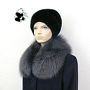 Аксессуары handmade. Livemaster - original item Removable fur collar Fox fur