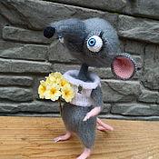 Мягкие игрушки ручной работы. Ярмарка Мастеров - ручная работа Романтический Крыс Ромео. Handmade.