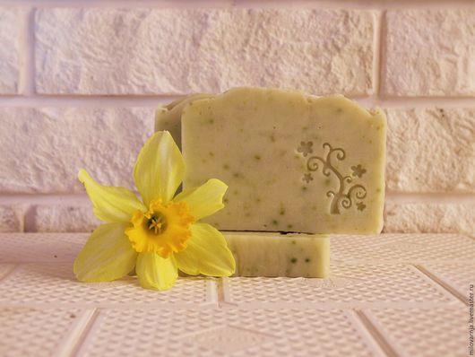 Мыло ручной работы. Ярмарка Мастеров - ручная работа. Купить натуральное мыло на огуречном соке. Handmade. Натуральное мыло, Крым