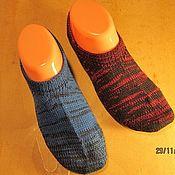 Носки ручной работы. Ярмарка Мастеров - ручная работа Следки  (подследники) из 100% шерсти. Handmade.