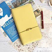 Блокноты ручной работы. Ярмарка Мастеров - ручная работа Мидори-блокнот путешественника. Handmade.