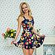 Платья ручной работы. платье МА-20. Marussia / Маруся. Интернет-магазин Ярмарка Мастеров. Цветочный, платье для выпускного