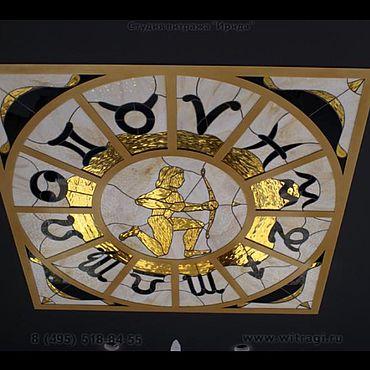Для дома и интерьера ручной работы. Ярмарка Мастеров - ручная работа Витражные потолочки. Handmade.