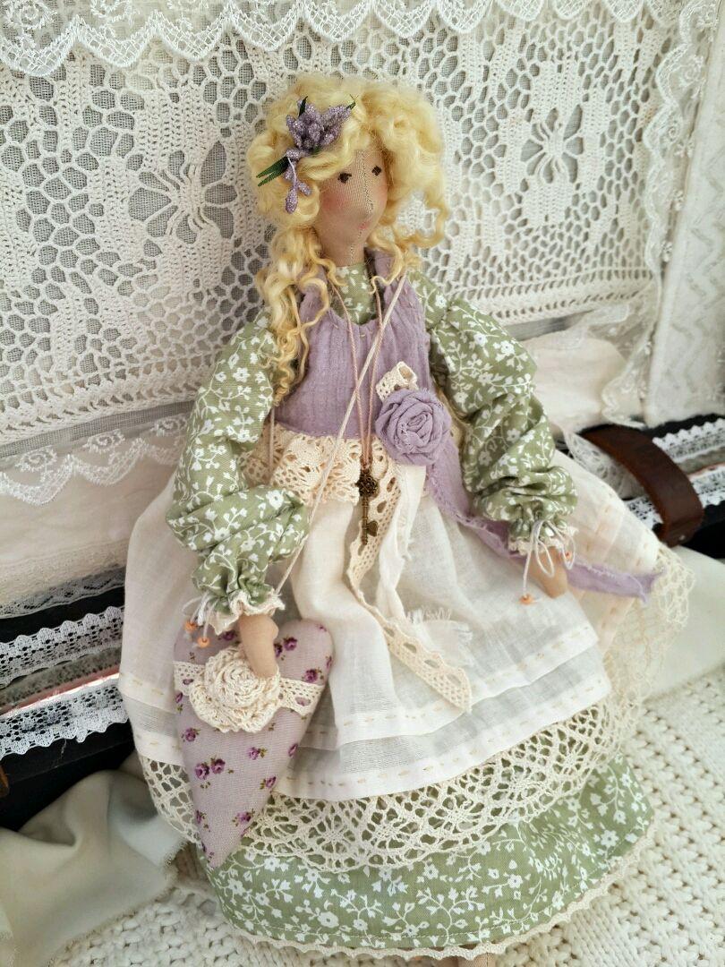 Кукла интерьерная в стиле бохо, Куклы и пупсы, Красноярск,  Фото №1