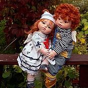Куклы и игрушки handmade. Livemaster - original item boudoir doll: Dolls made of polymer clay in the marine style. Handmade.