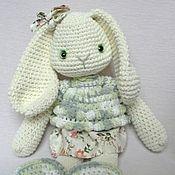 Куклы и игрушки ручной работы. Ярмарка Мастеров - ручная работа Снежка и Кролик Лили. Handmade.