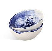 """Посуда ручной работы. Ярмарка Мастеров - ручная работа Пиалы """"На дне моря"""". Handmade."""