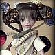 Коллекционные куклы ручной работы. Заказать Safi Gold Steampunk. Инна Павлова. Ярмарка Мастеров. Кукла ручной работы, полиуретан