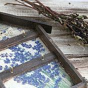 Для дома и интерьера ручной работы. Ярмарка Мастеров - ручная работа Ключница настенная Прованс малая. Handmade.