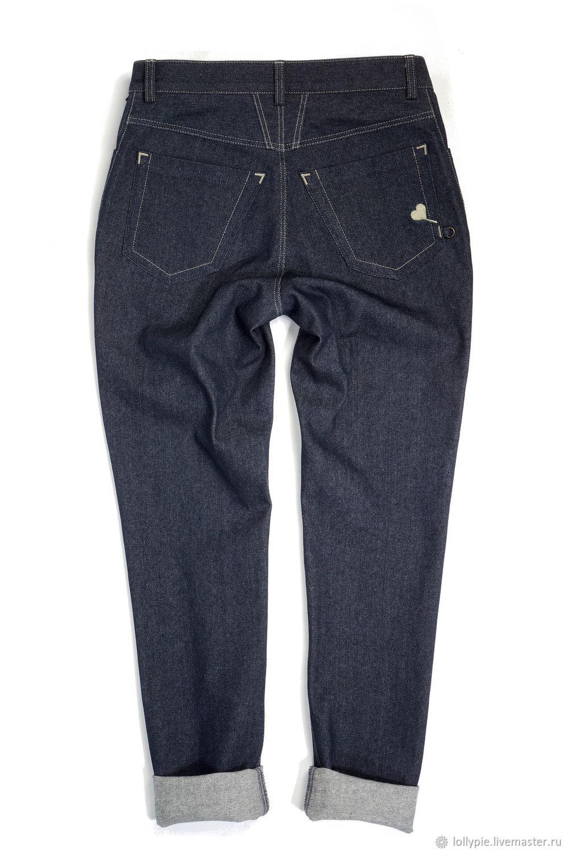 Классические синие джинсы женские, Джинсы, Москва, Фото №1