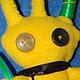 Игрушки животные, ручной работы. Ярмарка Мастеров - ручная работа. Купить Флисовый Жук. Handmade. Желтый, жук, инопланетянин, buheirf