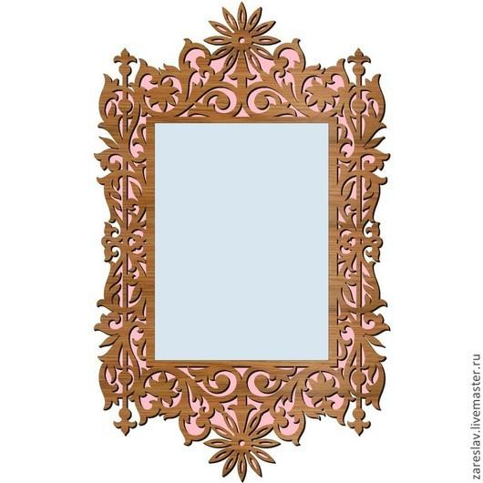 Быт ручной работы. Ярмарка Мастеров - ручная работа. Купить Резная рама для зеркала. Handmade. Рама для зеркала, зеркало