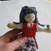 Куклы и игрушки ручной работы. Ярмарка Мастеров - ручная работа куколка из текстиля фея. Handmade.