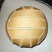 Сувениры и подарки handmade. Livemaster - original item Volleyball made of birch bark. Handmade.