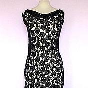 Одежда ручной работы. Ярмарка Мастеров - ручная работа Чёрное коктейльное платье. Handmade.