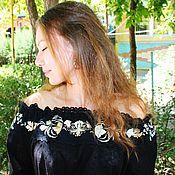 Одежда handmade. Livemaster - original item Stylish summer boho blouse tunic