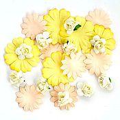 Материалы для творчества handmade. Livemaster - original item Flowers paper pack.30pcs. Handmade.