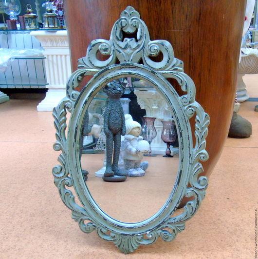 Зеркала ручной работы. Ярмарка Мастеров - ручная работа. Купить Зеркало настенное. Handmade. Серый, Мебель, мебель на заказ