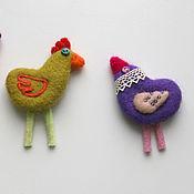 Украшения ручной работы. Ярмарка Мастеров - ручная работа Птички на любой вкус и цвет. Handmade.