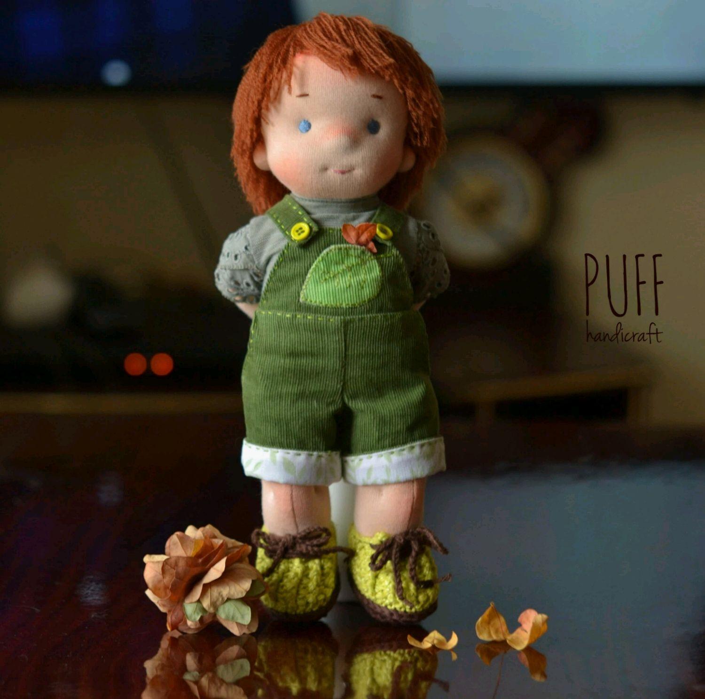 Игровая кукла мальчик, Вальдорфские куклы и звери, Одесса,  Фото №1
